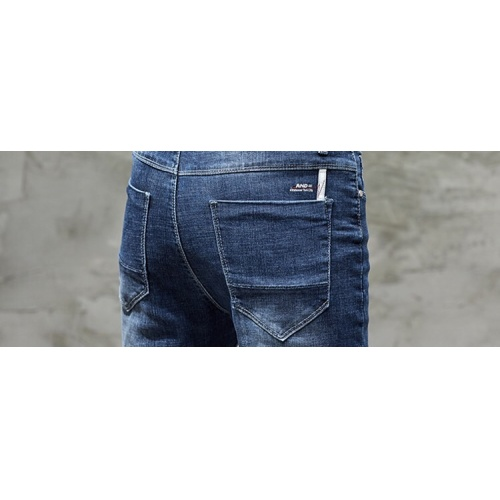 Replica Burberry Jeans Trousers For Men #785348 $43.65 USD for Wholesale