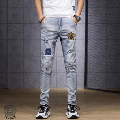 Versace Jeans Trousers For Men #785350 $43.65, Wholesale Replica Versace Jeans
