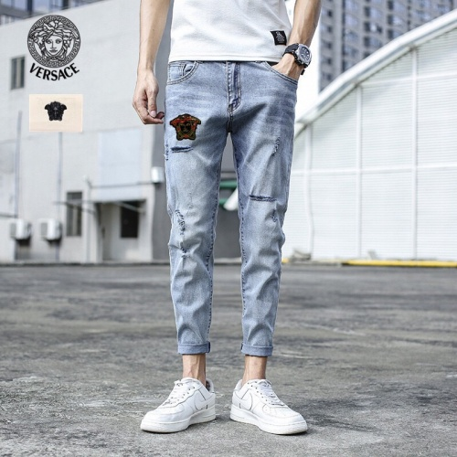 Versace Jeans Trousers For Men #785351 $43.65, Wholesale Replica Versace Jeans