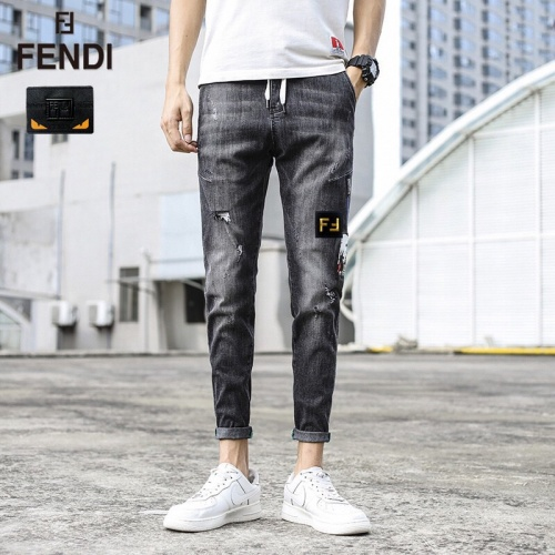 Fendi Jeans Trousers For Men #785355