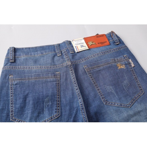Replica Burberry Jeans Shorts For Men #785372 $32.98 USD for Wholesale
