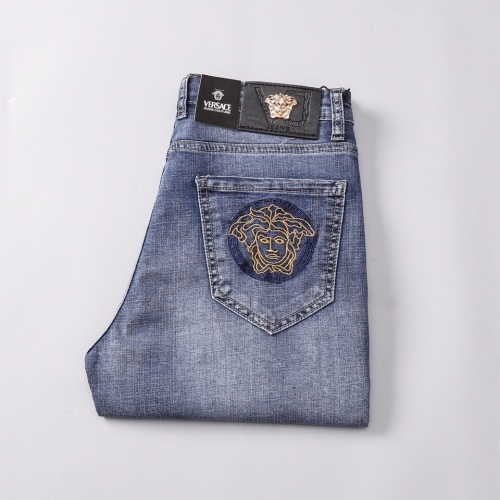 Replica Versace Jeans Shorts For Men #785377 $36.86 USD for Wholesale