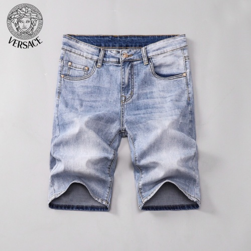 Replica Versace Jeans Shorts For Men #785385 $38.80 USD for Wholesale
