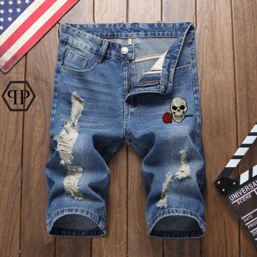 Philipp Plein PP Jeans Shorts For Men #785387