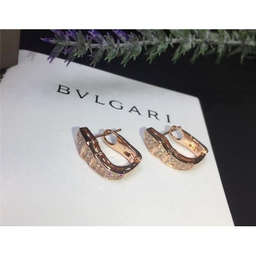 Bvlgari Earrings #785454 $31.04 USD, Wholesale Replica Bvlgari Earrings