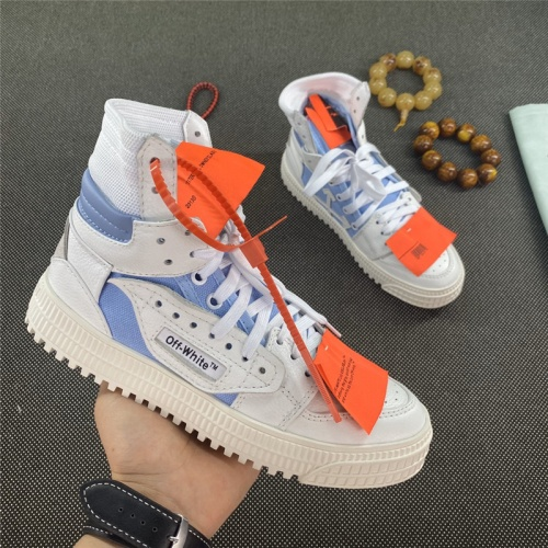 Off-White High Tops Shoes For Men #785516