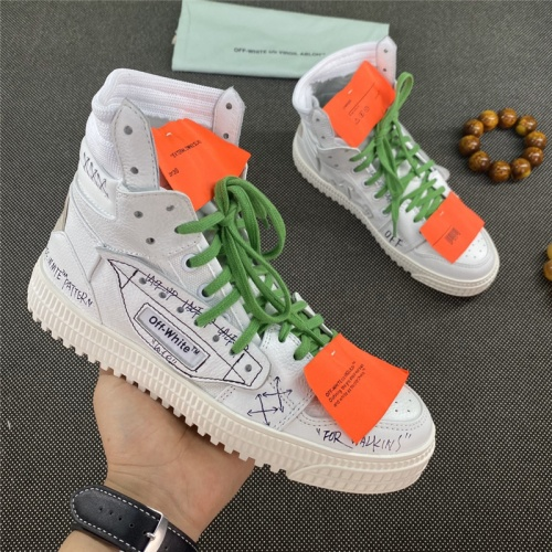 Off-White High Tops Shoes For Men #785523