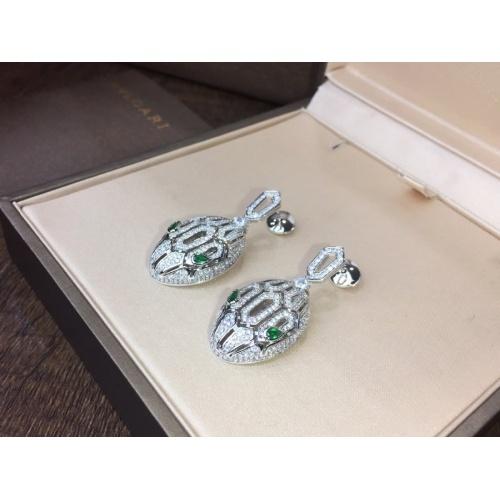 Bvlgari Earrings #785527 $43.65, Wholesale Replica Bvlgari Earrings