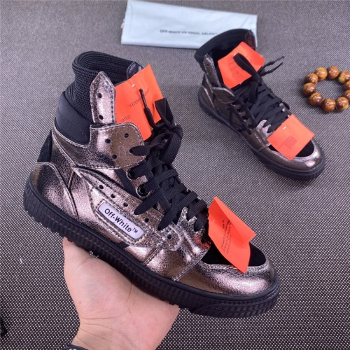 Off-White High Tops Shoes For Men #785529