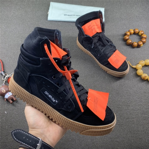 Off-White High Tops Shoes For Women #785535