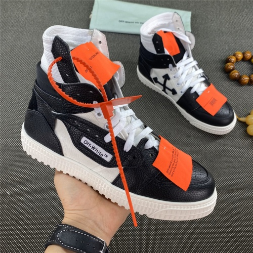 Off-White High Tops Shoes For Women #785536