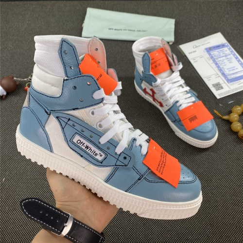 Off-White High Tops Shoes For Men #785542