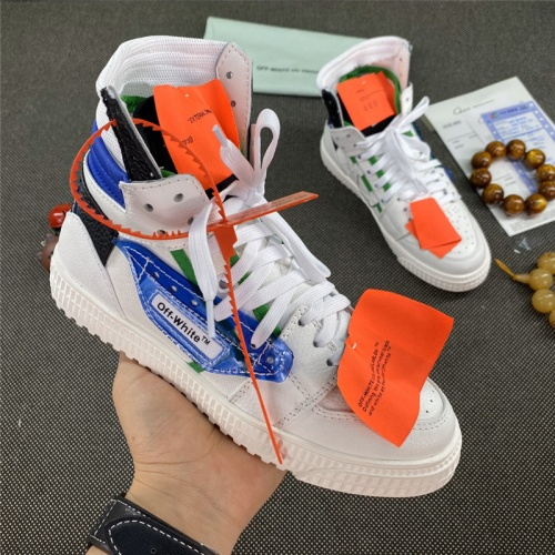 Off-White High Tops Shoes For Men #785546