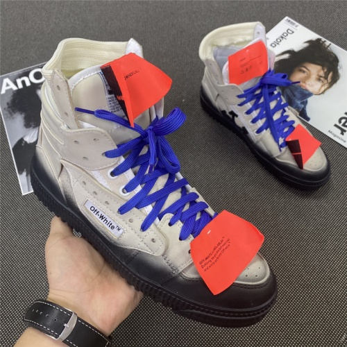 Off-White High Tops Shoes For Women #785561