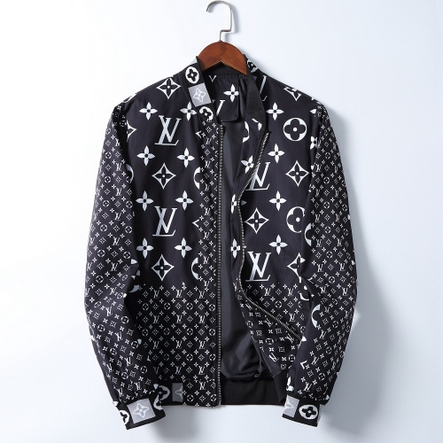 Louis Vuitton LV Jackets Long Sleeved Zipper For Men #785577