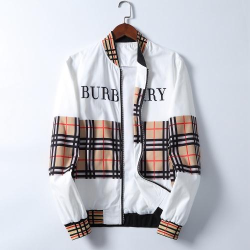 Burberry Jackets Long Sleeved Zipper For Men #785594