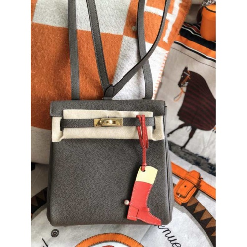 Hermes AAA Quality Backpacks For Women #785987 $109.61 USD, Wholesale Replica Hermes AAA Quality Backpacks