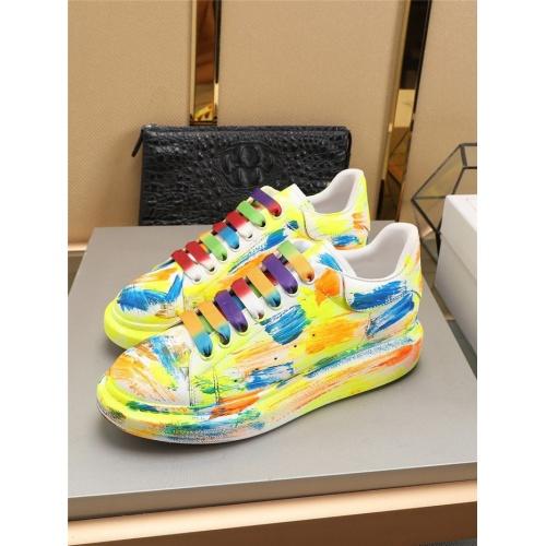 Alexander McQueen Casual Shoes For Men #786005