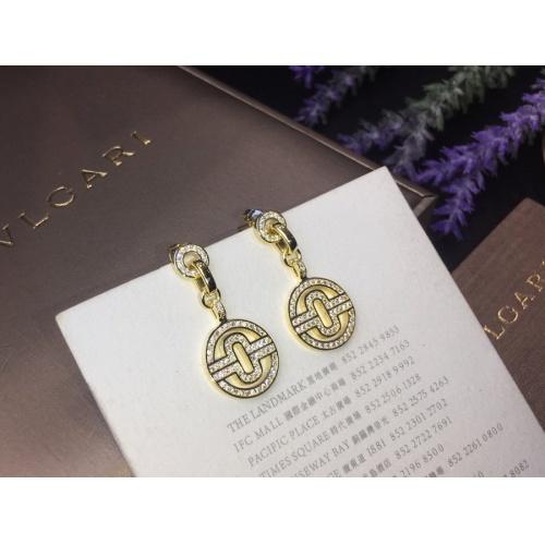Bvlgari Earrings #786067 $32.98 USD, Wholesale Replica Bvlgari Earrings