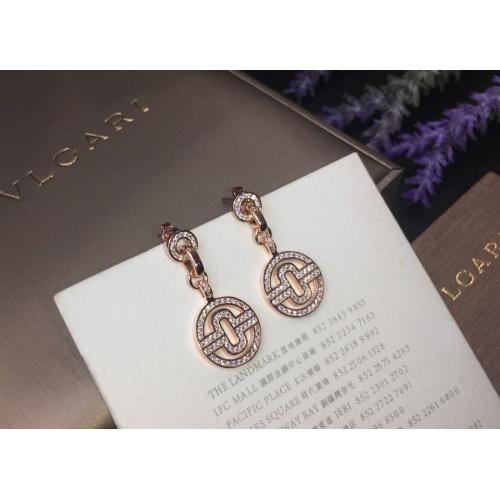 Bvlgari Earrings #786069 $32.98, Wholesale Replica Bvlgari Earrings