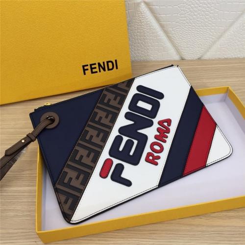 Fendi AAA Quality Wallets #786111 $105.73 USD, Wholesale Replica Fendi AAA+ Quality Wallet
