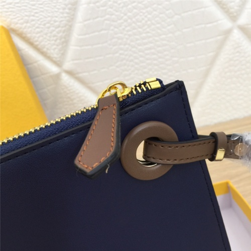 Replica Fendi AAA Quality Wallets #786111 $105.73 USD for Wholesale