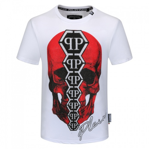 Philipp Plein PP T-Shirts Short Sleeved O-Neck For Men #786127