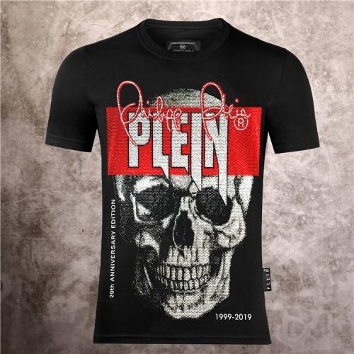 Philipp Plein PP T-Shirts Short Sleeved O-Neck For Men #786136
