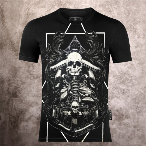 Philipp Plein PP T-Shirts Short Sleeved O-Neck For Men #786138
