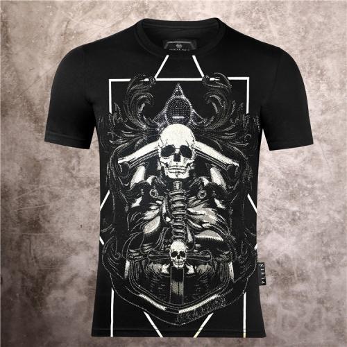 Philipp Plein PP T-Shirts Short Sleeved O-Neck For Men #786138