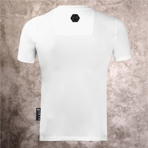 Replica Philipp Plein PP T-Shirts Short Sleeved O-Neck For Men #786139 $28.13 USD for Wholesale