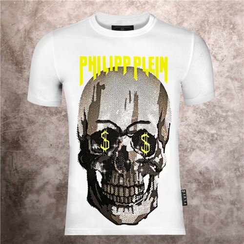 Philipp Plein PP T-Shirts Short Sleeved O-Neck For Men #786144