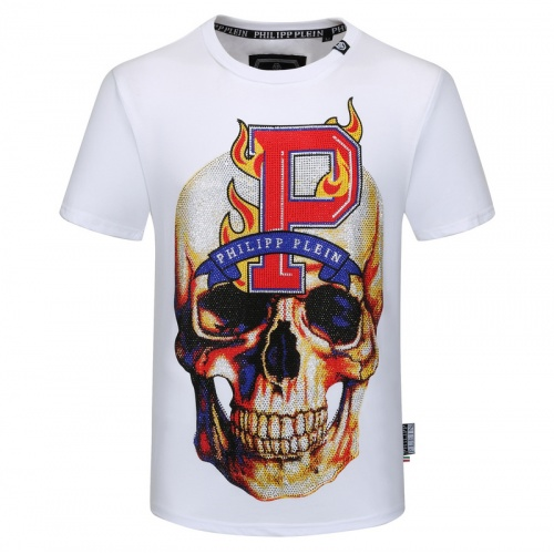Philipp Plein PP T-Shirts Short Sleeved O-Neck For Men #786159
