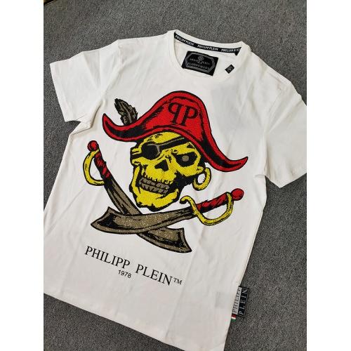 Philipp Plein PP T-Shirts Short Sleeved O-Neck For Men #786190