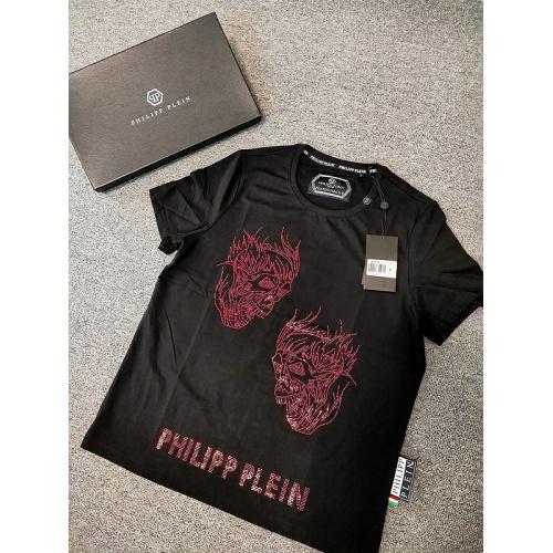Philipp Plein PP T-Shirts Short Sleeved O-Neck For Men #786201