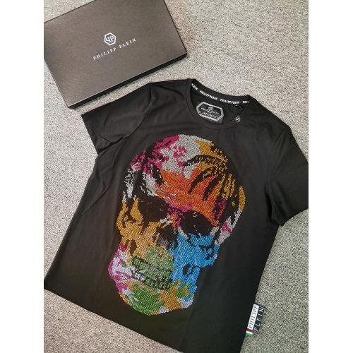 Philipp Plein PP T-Shirts Short Sleeved O-Neck For Men #786202