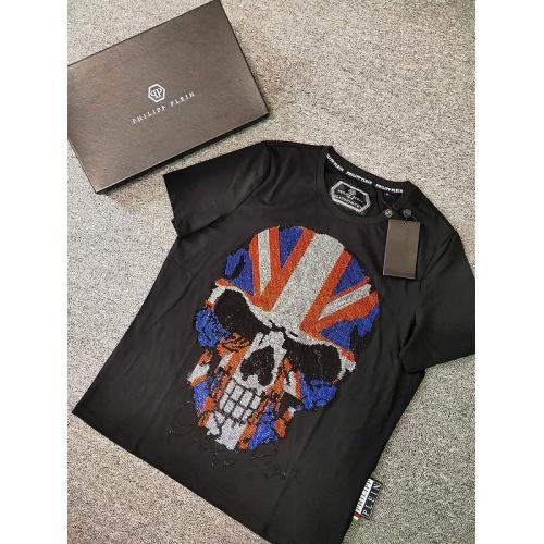 Philipp Plein PP T-Shirts Short Sleeved O-Neck For Men #786205