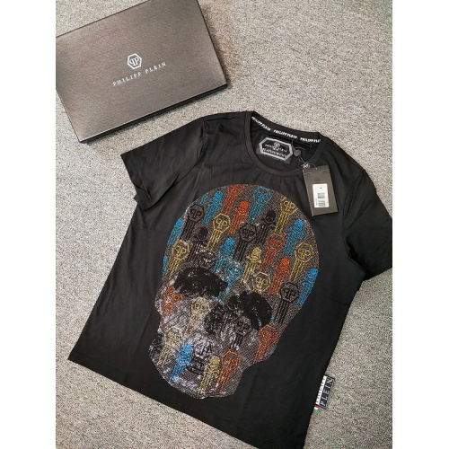 Philipp Plein PP T-Shirts Short Sleeved O-Neck For Men #786206