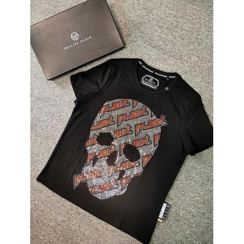 Philipp Plein PP T-Shirts Short Sleeved O-Neck For Men #786207