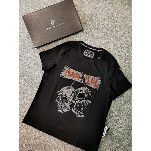 Philipp Plein PP T-Shirts Short Sleeved O-Neck For Men #786208 $26.19, Wholesale Replica Philipp Plein PP T-Shirts