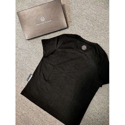 Replica Philipp Plein PP T-Shirts Short Sleeved O-Neck For Men #786208 $26.19 USD for Wholesale