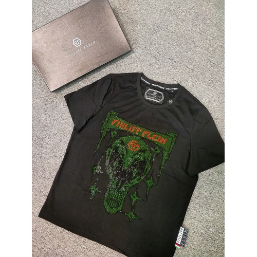 Philipp Plein PP T-Shirts Short Sleeved O-Neck For Men #786209