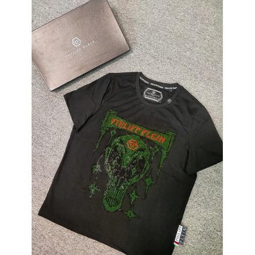 Philipp Plein PP T-Shirts Short Sleeved O-Neck For Men #786209