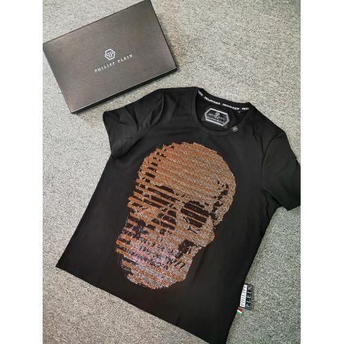 Philipp Plein PP T-Shirts Short Sleeved O-Neck For Men #786211