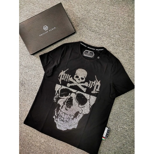 Philipp Plein PP T-Shirts Short Sleeved O-Neck For Men #786214
