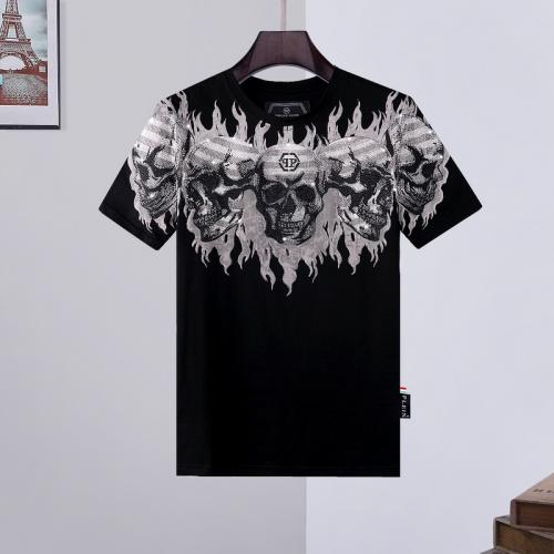 Philipp Plein PP T-Shirts Short Sleeved O-Neck For Men #786218 $28.13 USD, Wholesale Replica Philipp Plein PP T-Shirts
