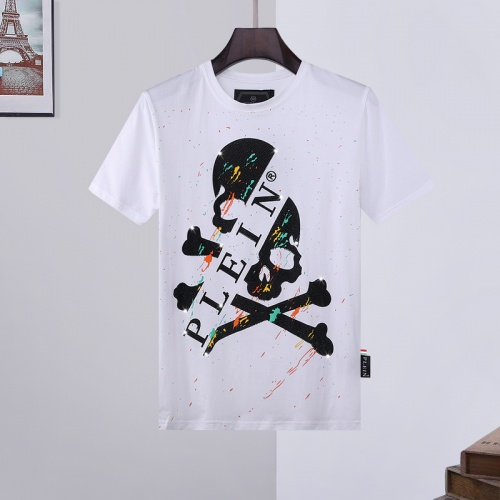 Philipp Plein PP T-Shirts Short Sleeved O-Neck For Men #786223 $28.13 USD, Wholesale Replica Philipp Plein PP T-Shirts