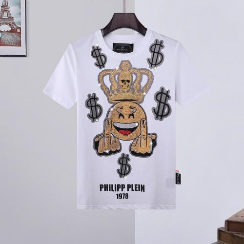 Philipp Plein PP T-Shirts Short Sleeved O-Neck For Men #786225
