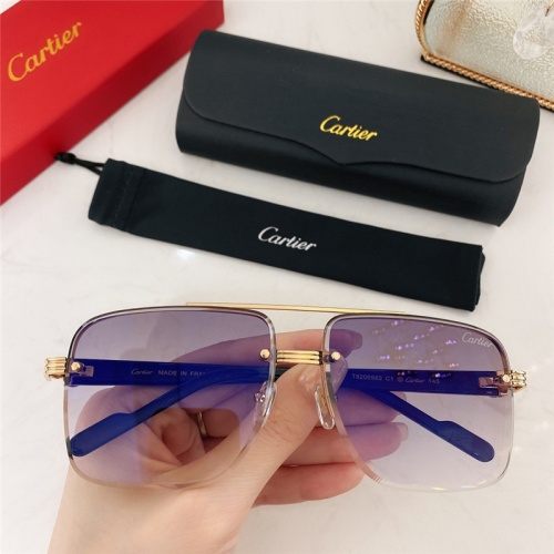 Cartier AAA Quality Sunglasses #786368