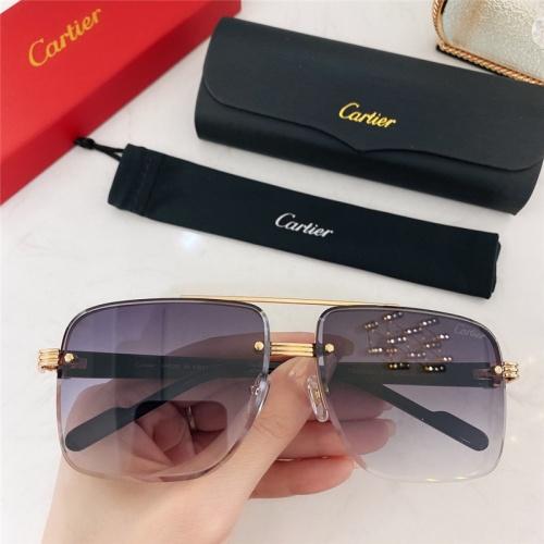 Cartier AAA Quality Sunglasses #786369